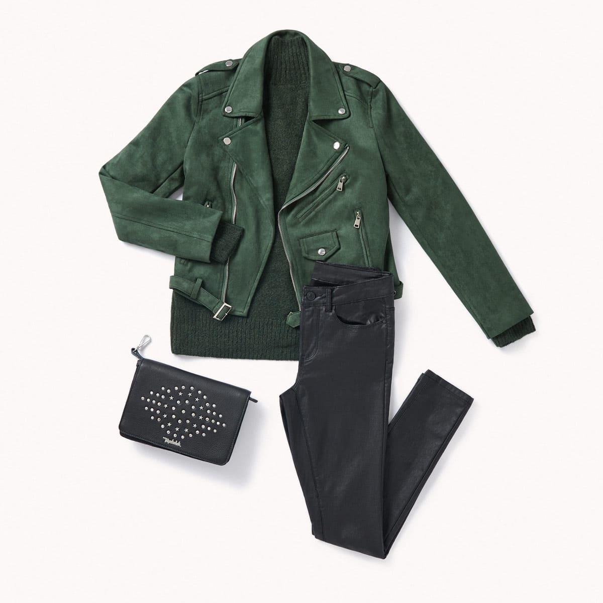 tenue le vert pin automne