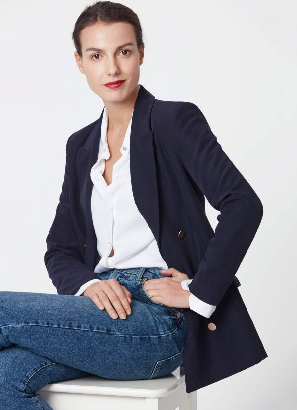 blue navy blazer