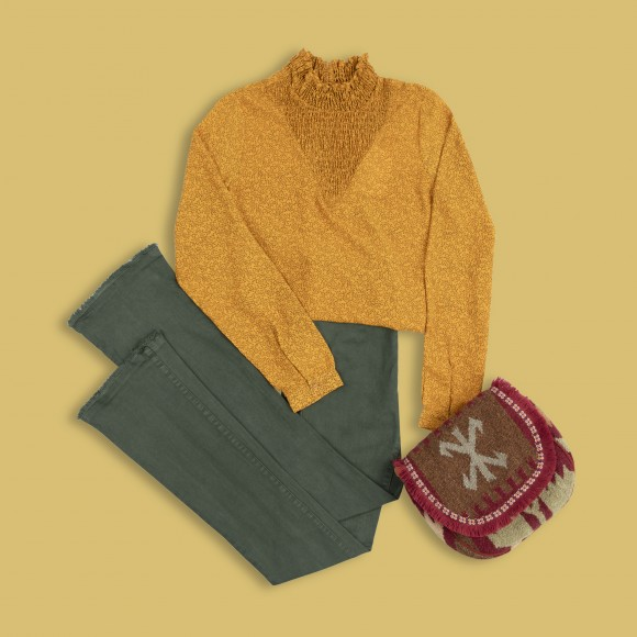 look colores tendecia mustard yellow