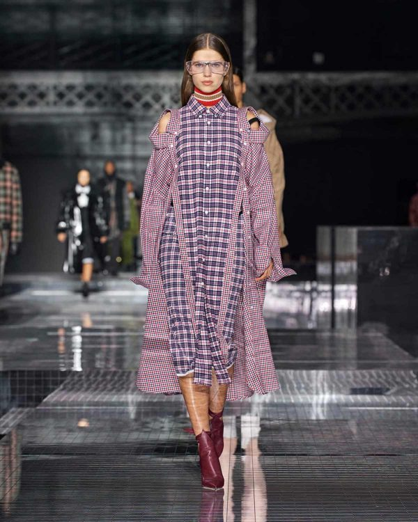 burberry london fashion week 2020 carreaux