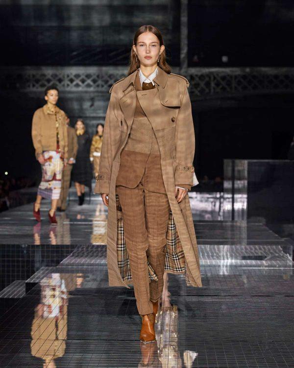 burberry otoño invierno london fashion week 2020