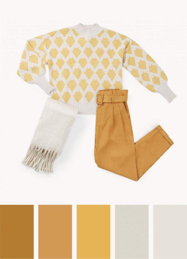 color amarillo tendencia primavera verano 2020