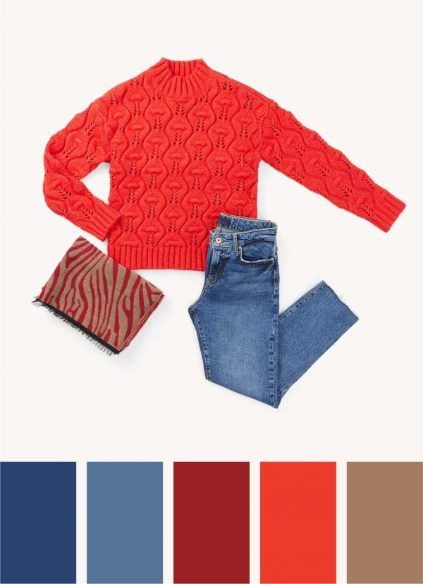 scarlet red colour spring summer trend 2020