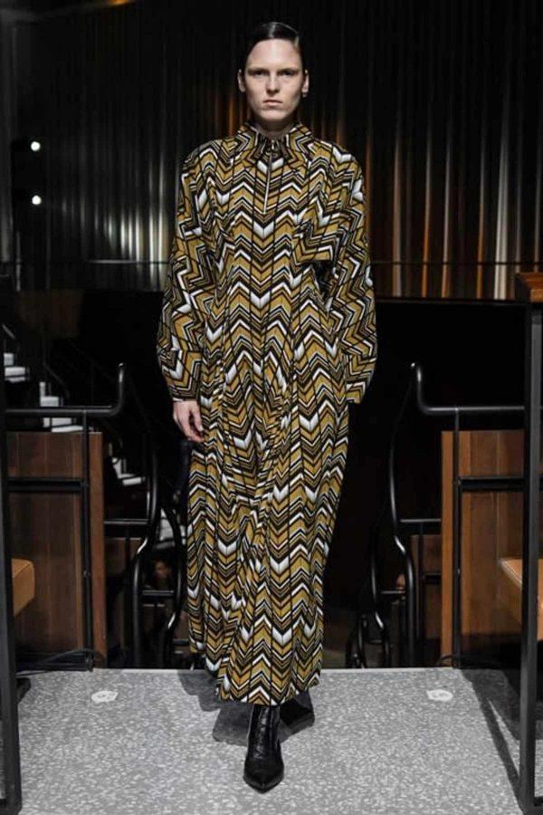 london fashion week aw 2020 print geometrico