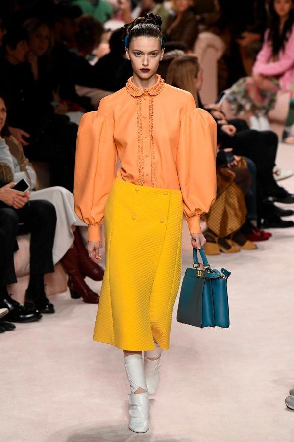 fendi-aw20-colorblock milan fashion week