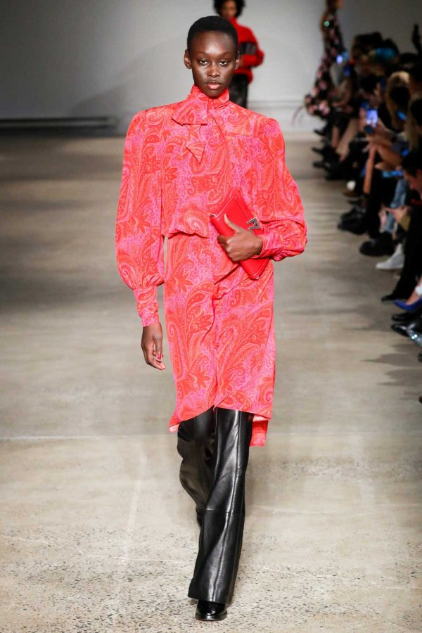 Paisley zadig & Voltaire nyfw aw2020