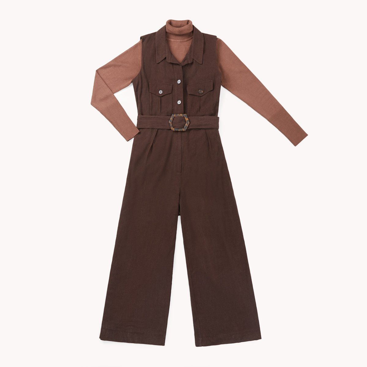 jumpsuit tons terre tendances printemps ete 2020