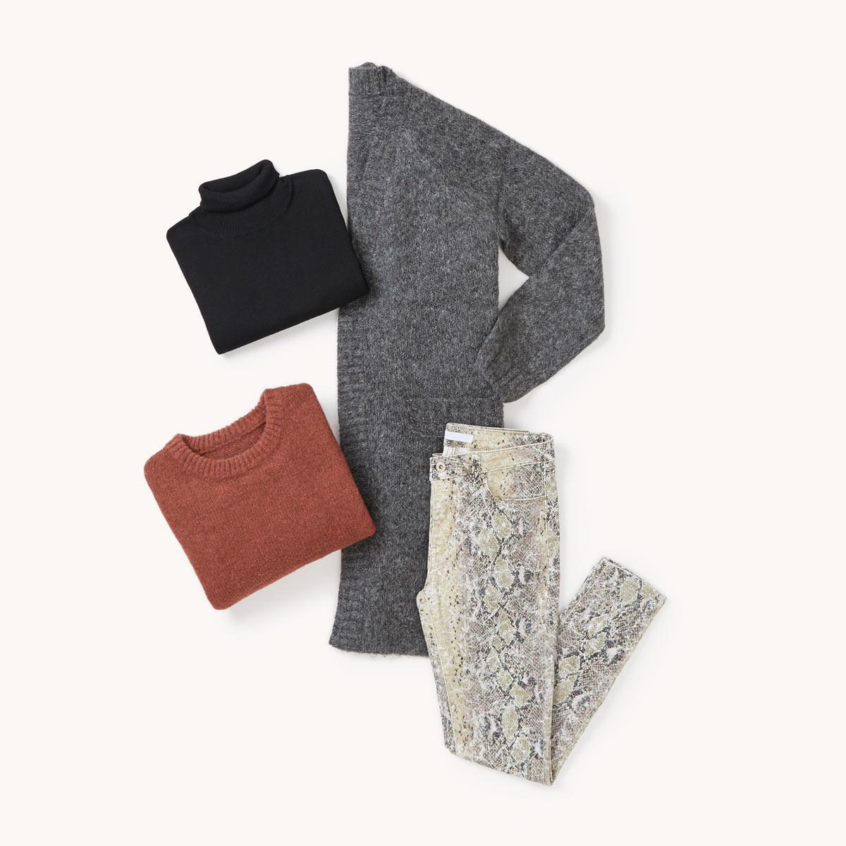 layering laine tenue
