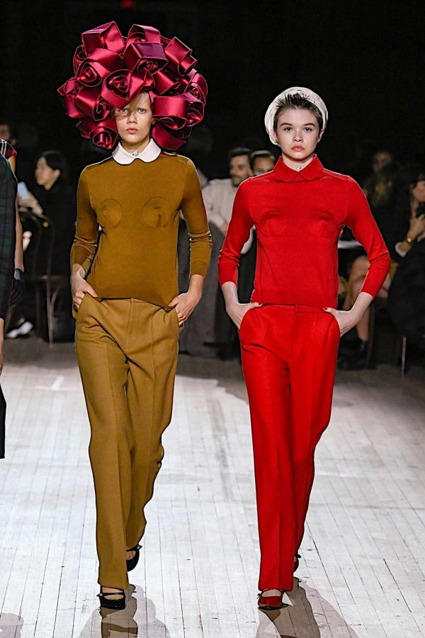 marc jacobs nyfw aw 2020 ocre