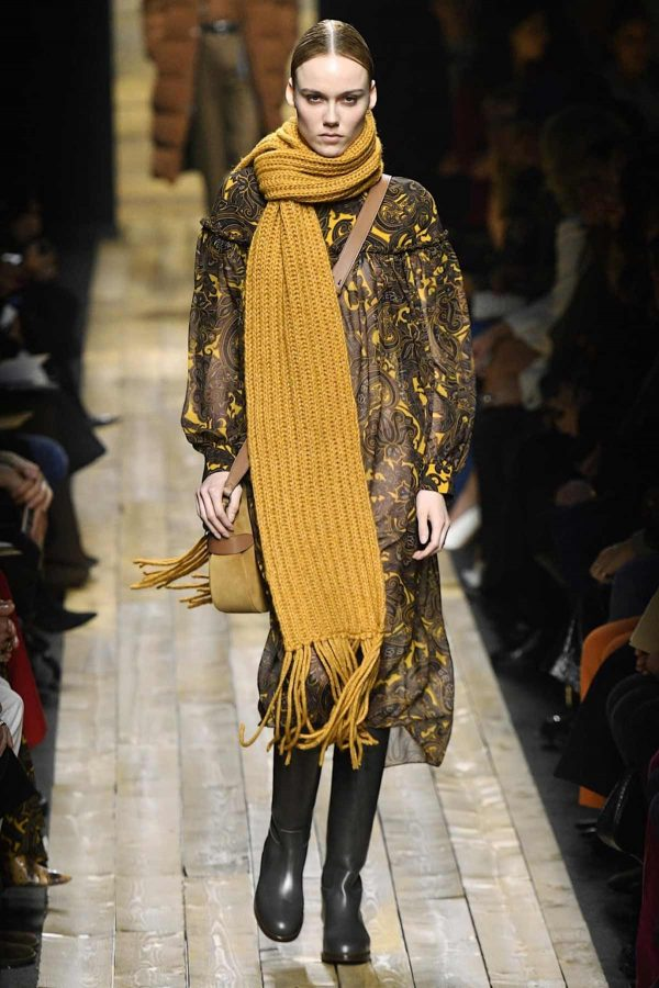 color ocre michael kors nyfw aw2020