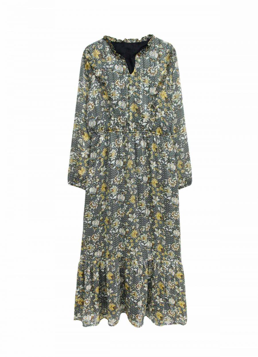 robe fleuri 70s tendance