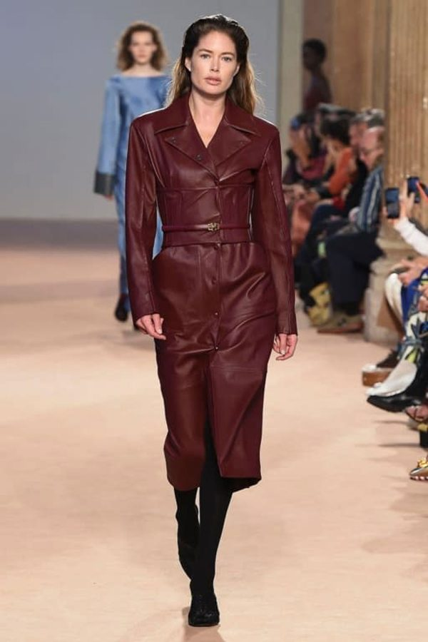 salvatore-ferragamo-aw20-leather milan fashion week
