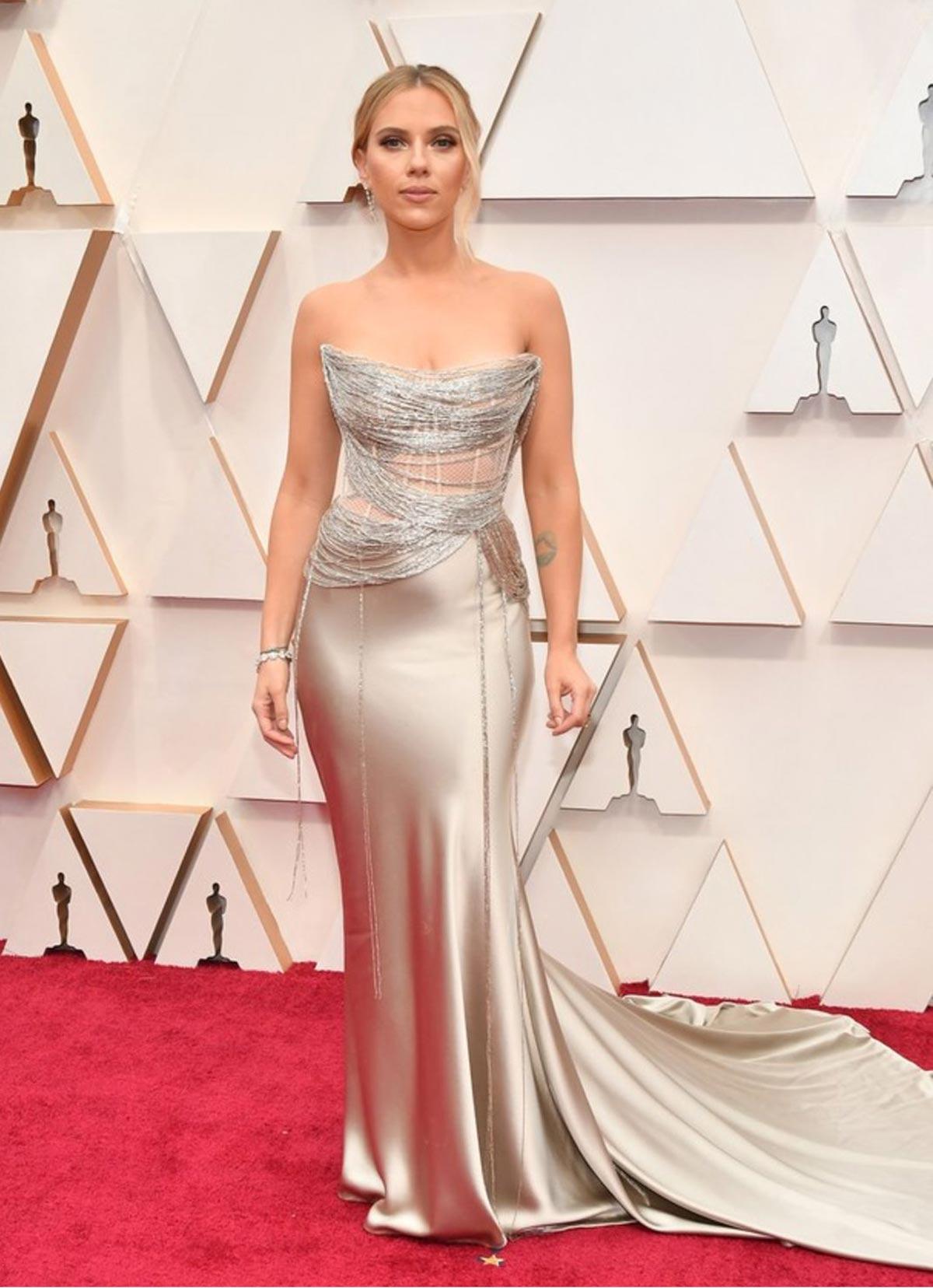 Scarlet Johansson Oscars 2020