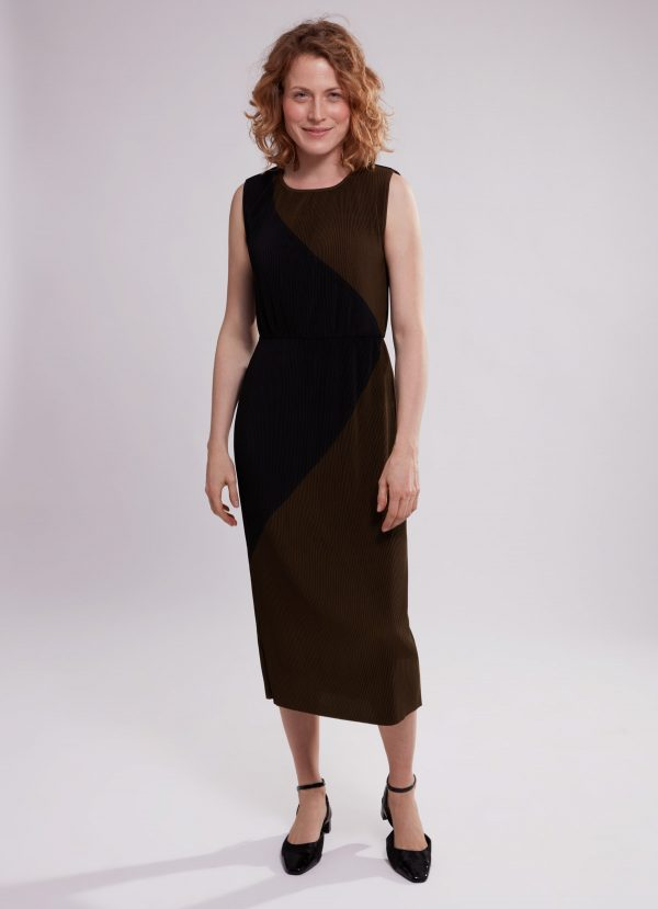 spring dress for rectangle body shape