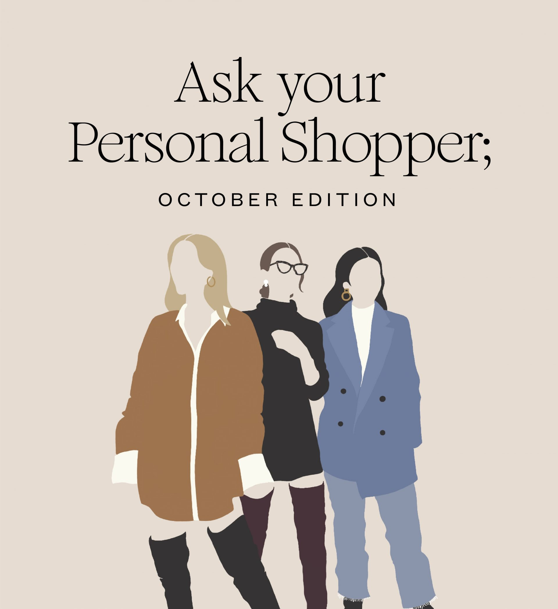 Ask to personal shopper october