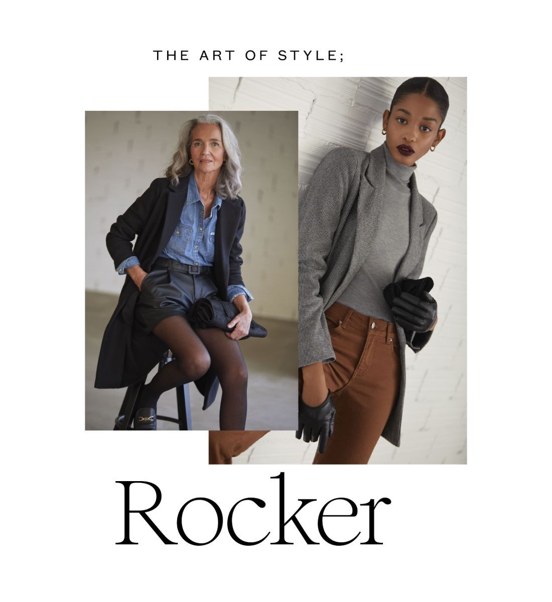 What is rock chic style?