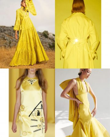 illuminating yellow tendencia color primavera 2021