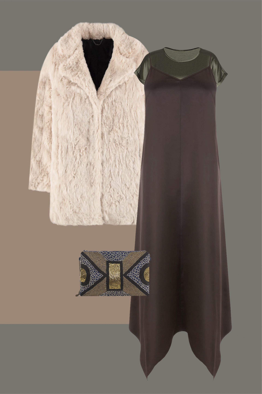 vestido lencero para disimular tripa