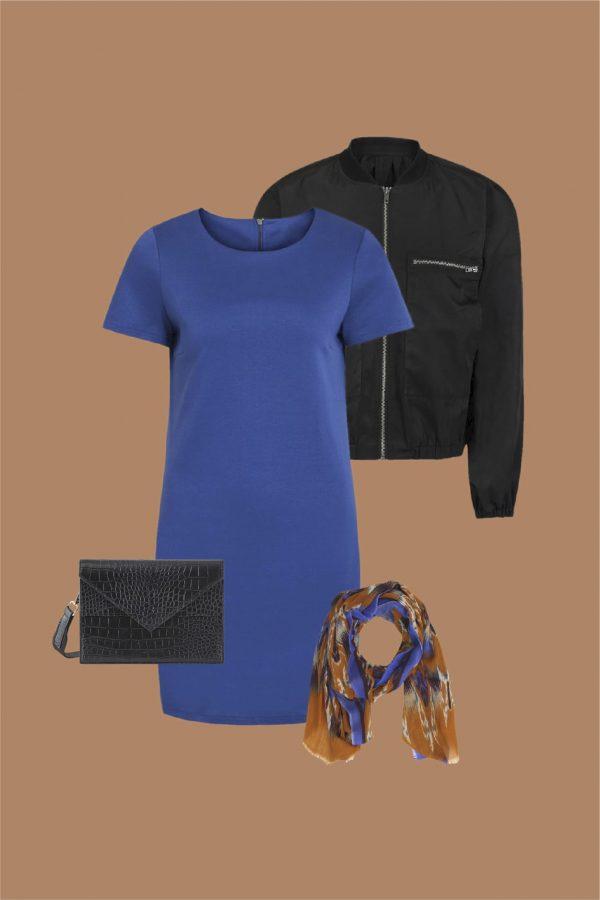 vestido minimal estilo athleisure