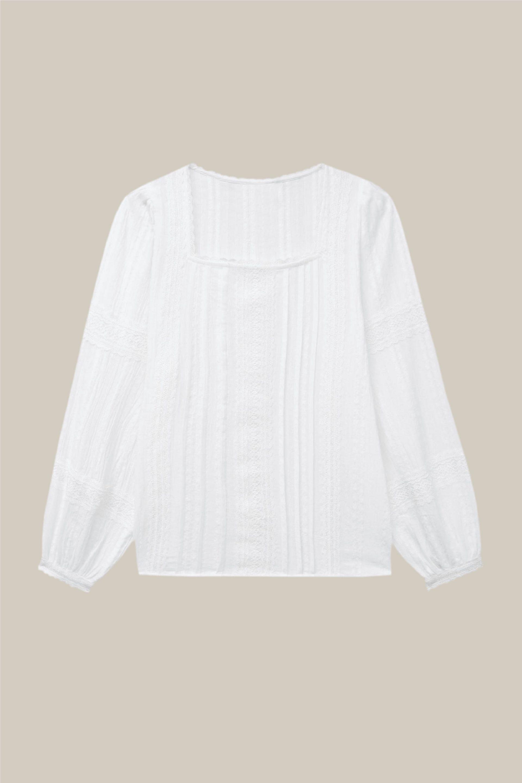 camisa estilo cottage core tendencia 2021