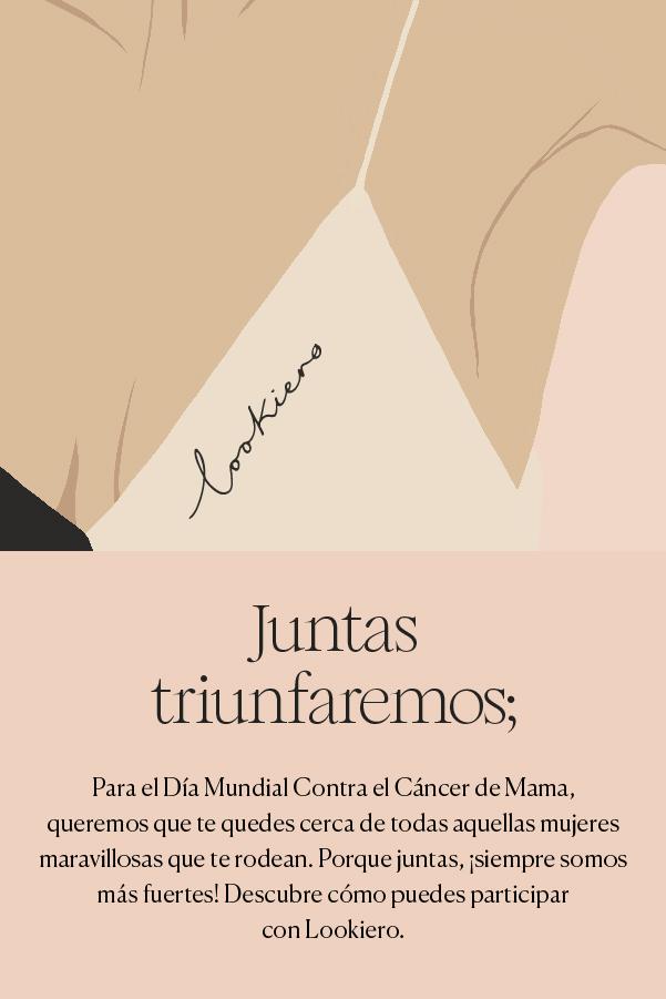 campaña cancer de mama 2020 lookiero
