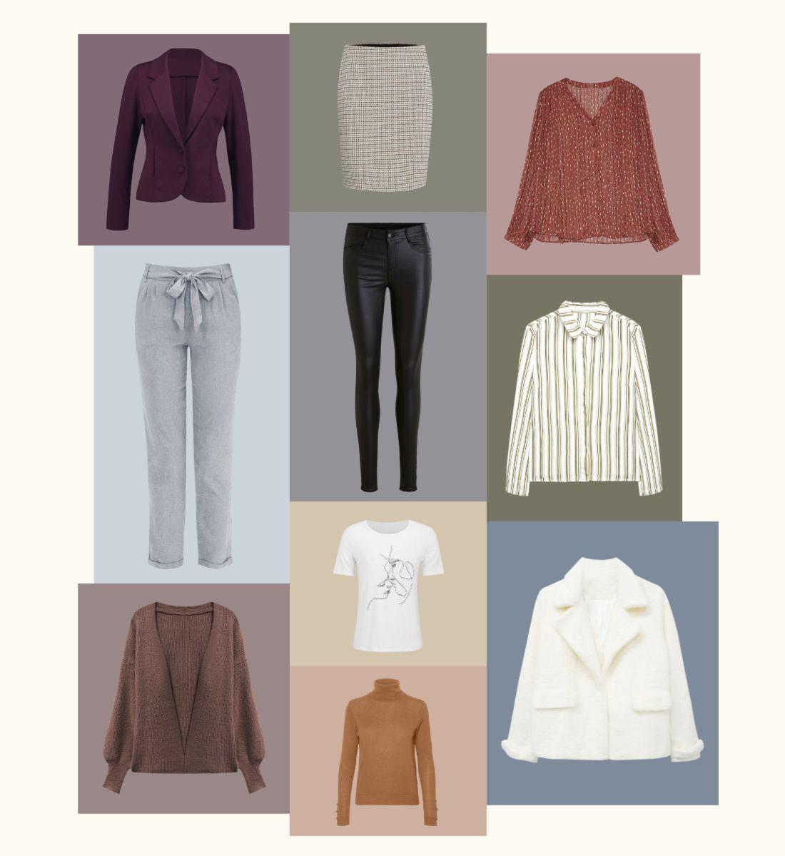 10 prendas para 6 looks de otoño
