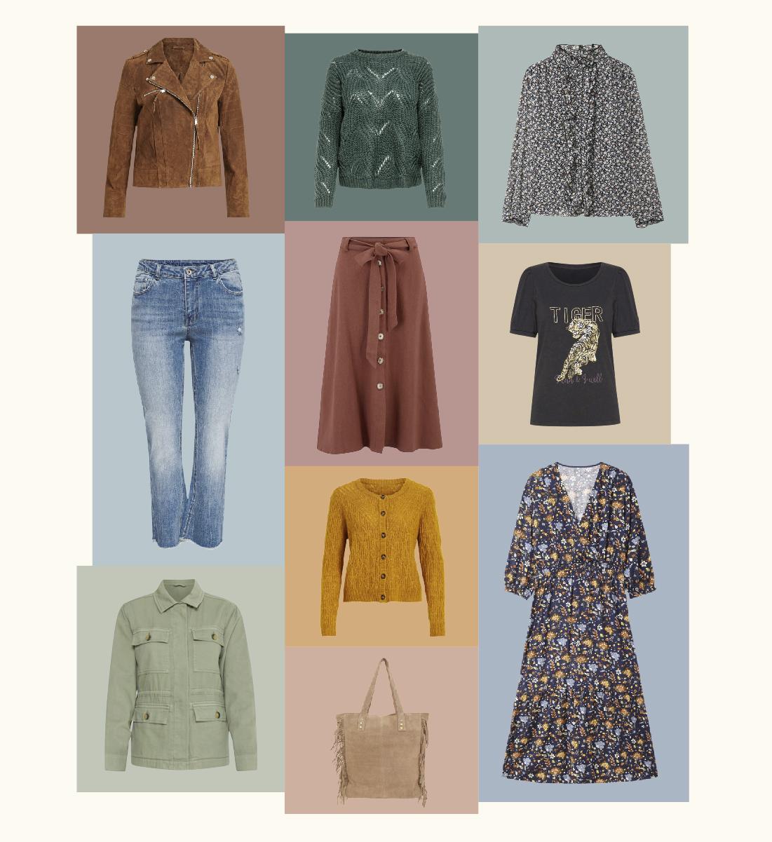 10 prendas en plena tendencia para vestir tu armario de otoño