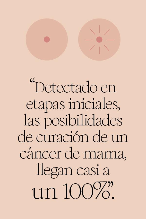 autoexploración para detectar cáncer de mama