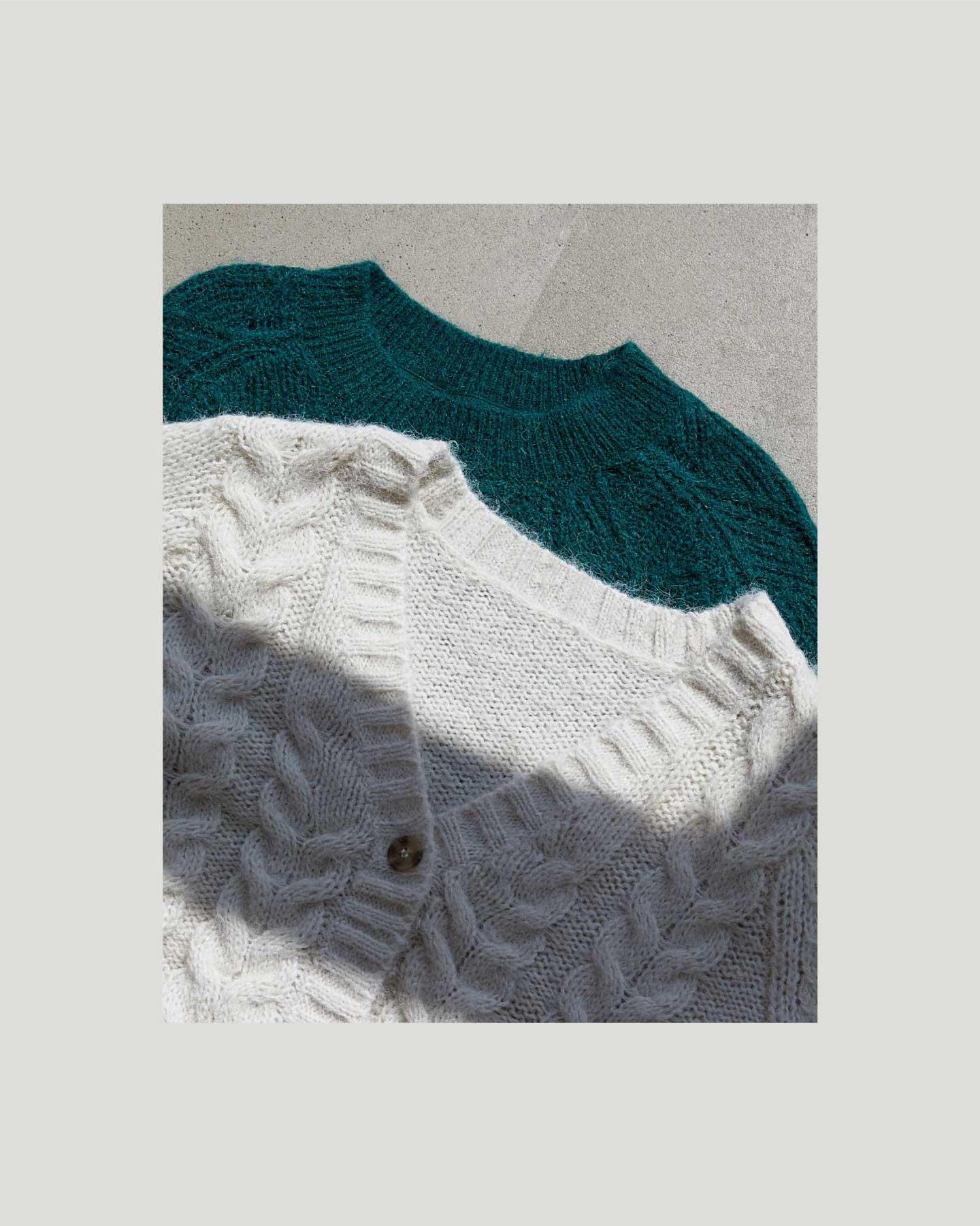 Jersey de cuello redondo o en V