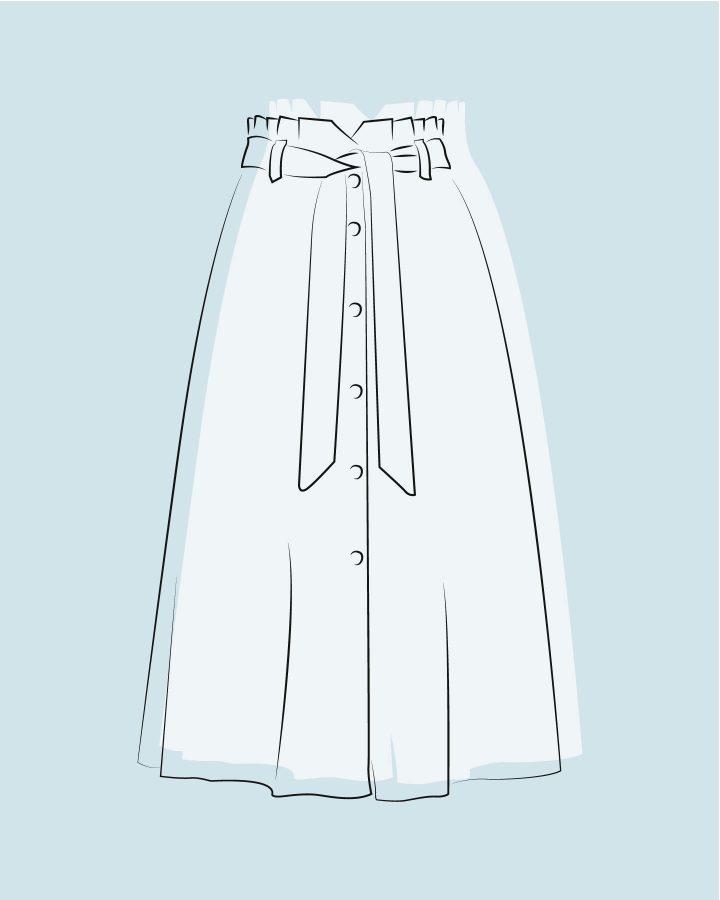 faldas de la A a la Z