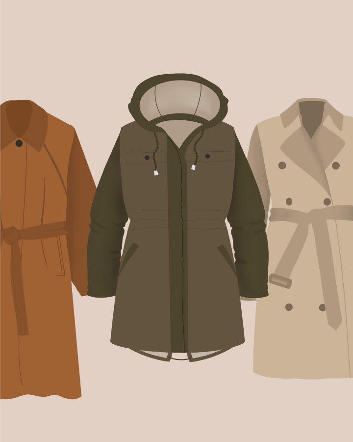 glosario de prendas exterior outwear