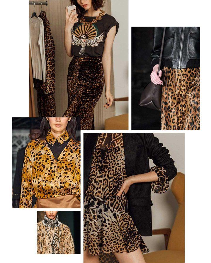como llevar el estampado de leopardo