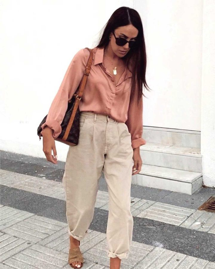 jeans slouchy beiges look