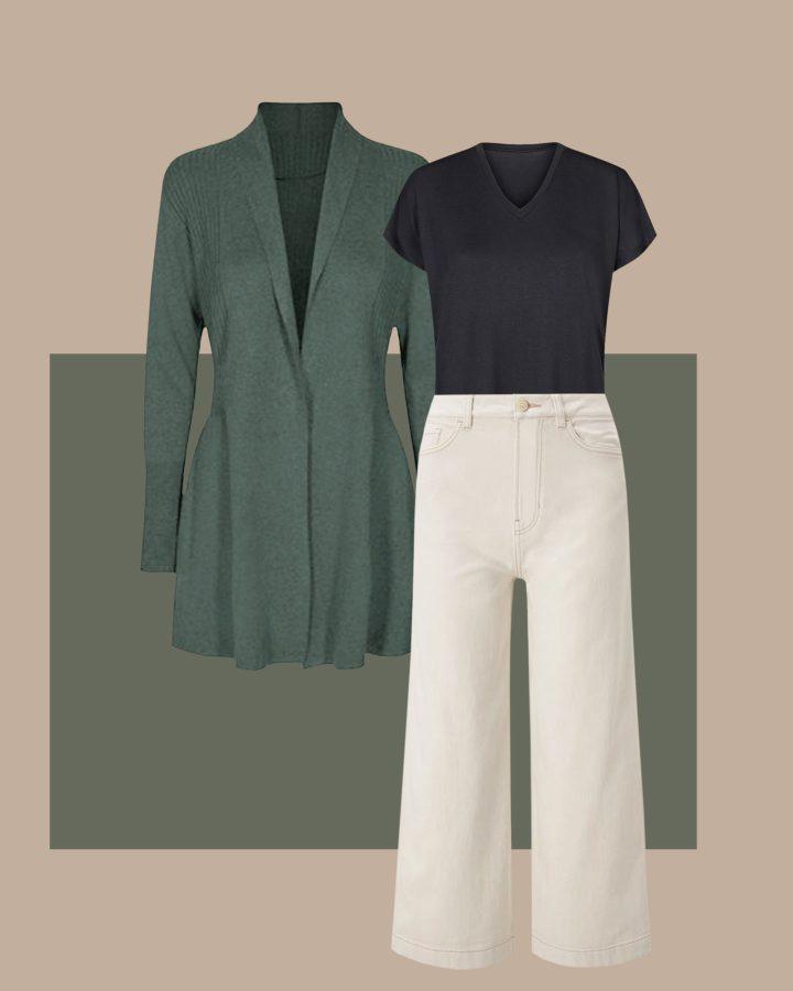 pantalones para cuerpo triángulo invertido