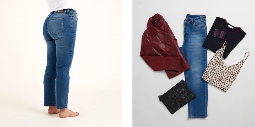 jeans para mujeres reloj de arena