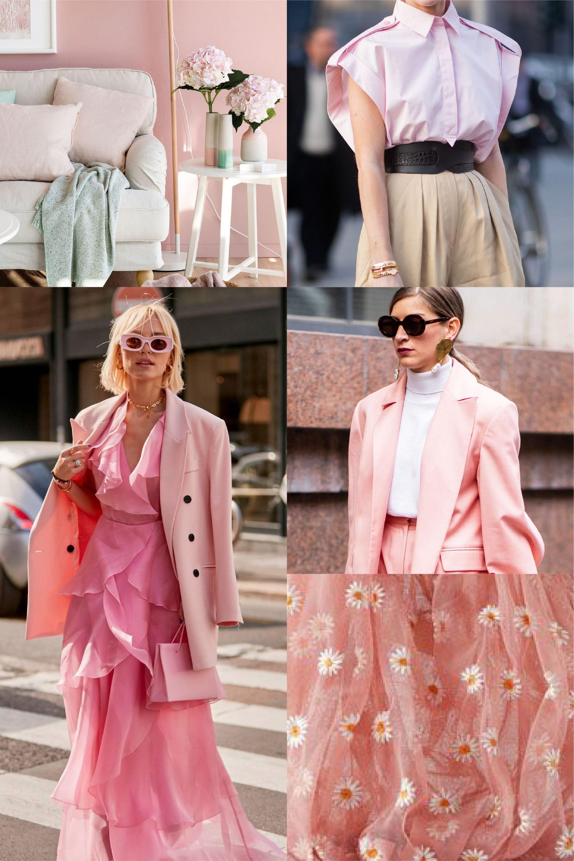 color rosa tendencia 2021