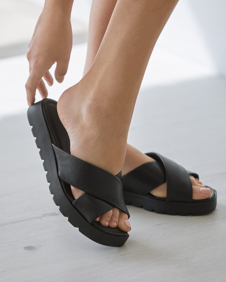 sandalias para pies ancho