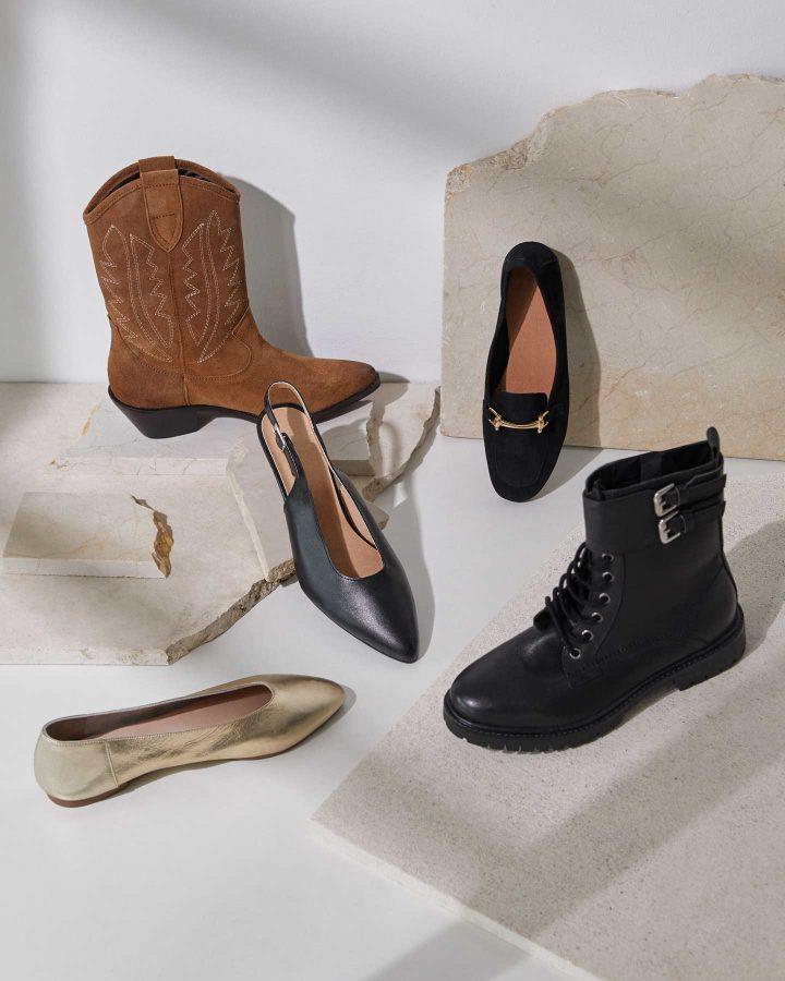 Le scarpe di tendenza dell'autunno-inverno