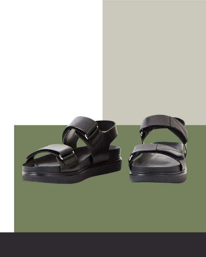 sandalia ugly para pies estrechos