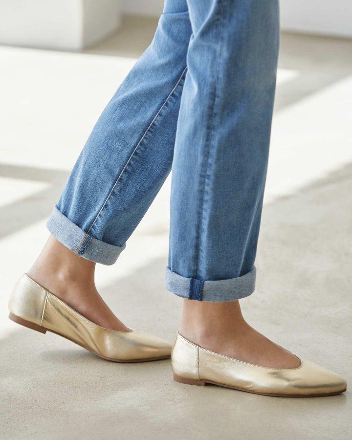 zapato plano lookiero