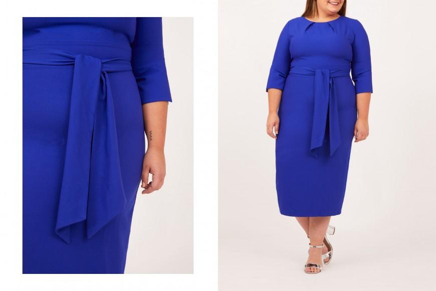 robe d'invité formelle bleue