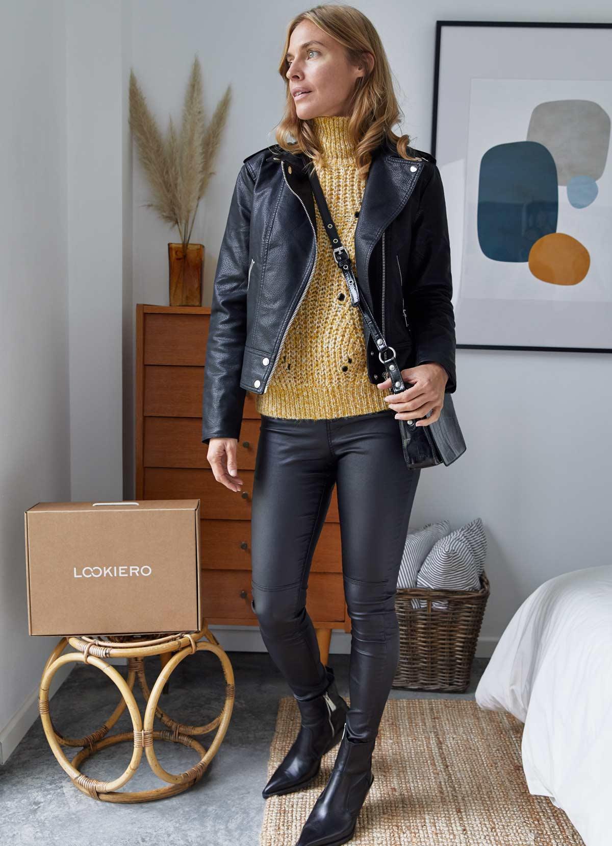 pantalon moulant et un perfecto decembre outfit
