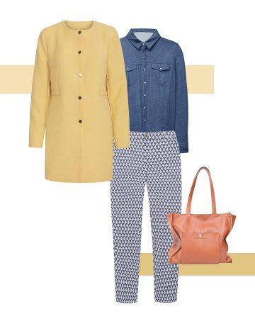 Comment porter le jaune cet automne-hiver