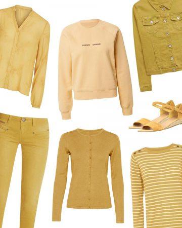 jaune tendance automne hiver
