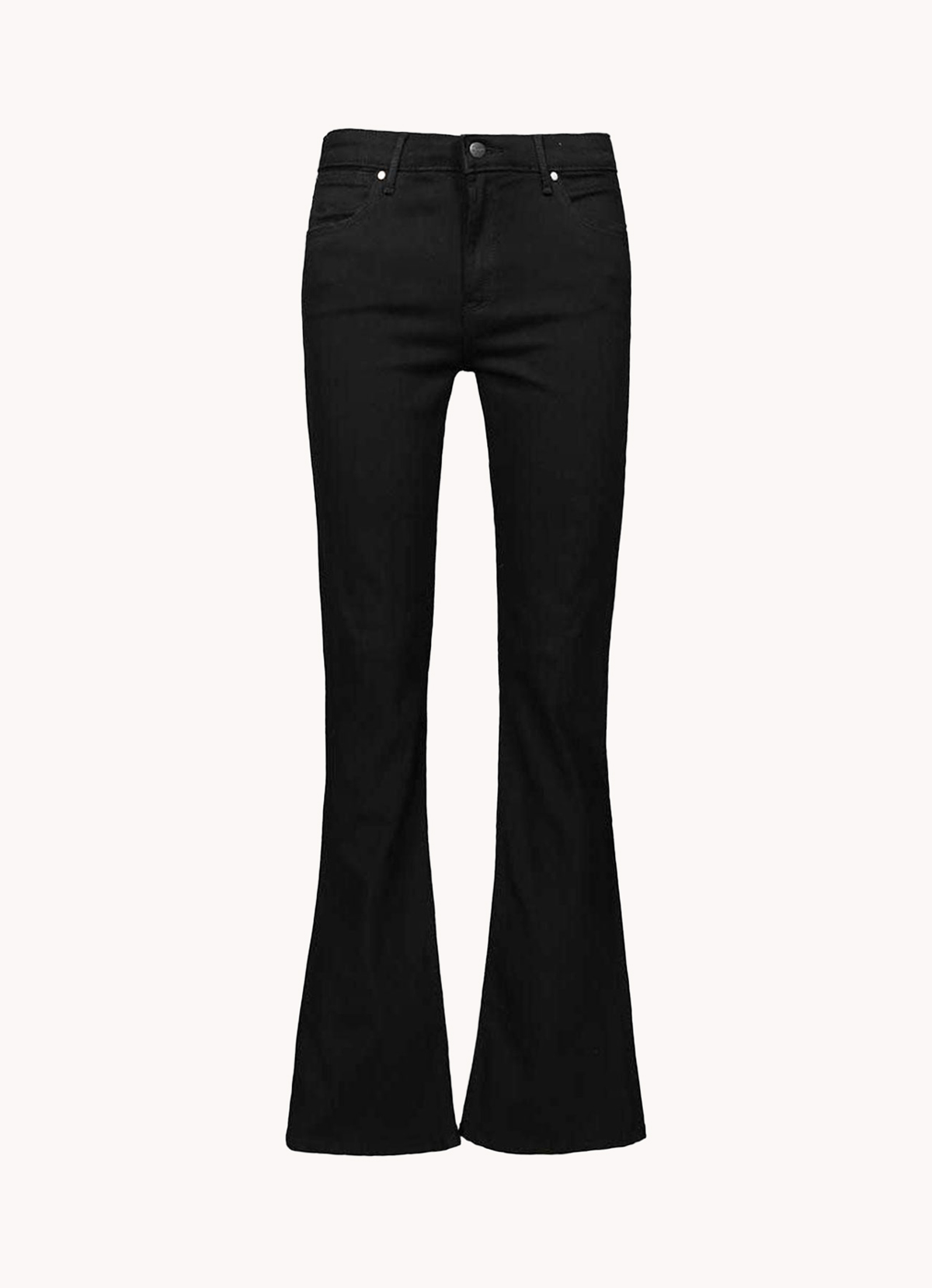 Flare jeans negros