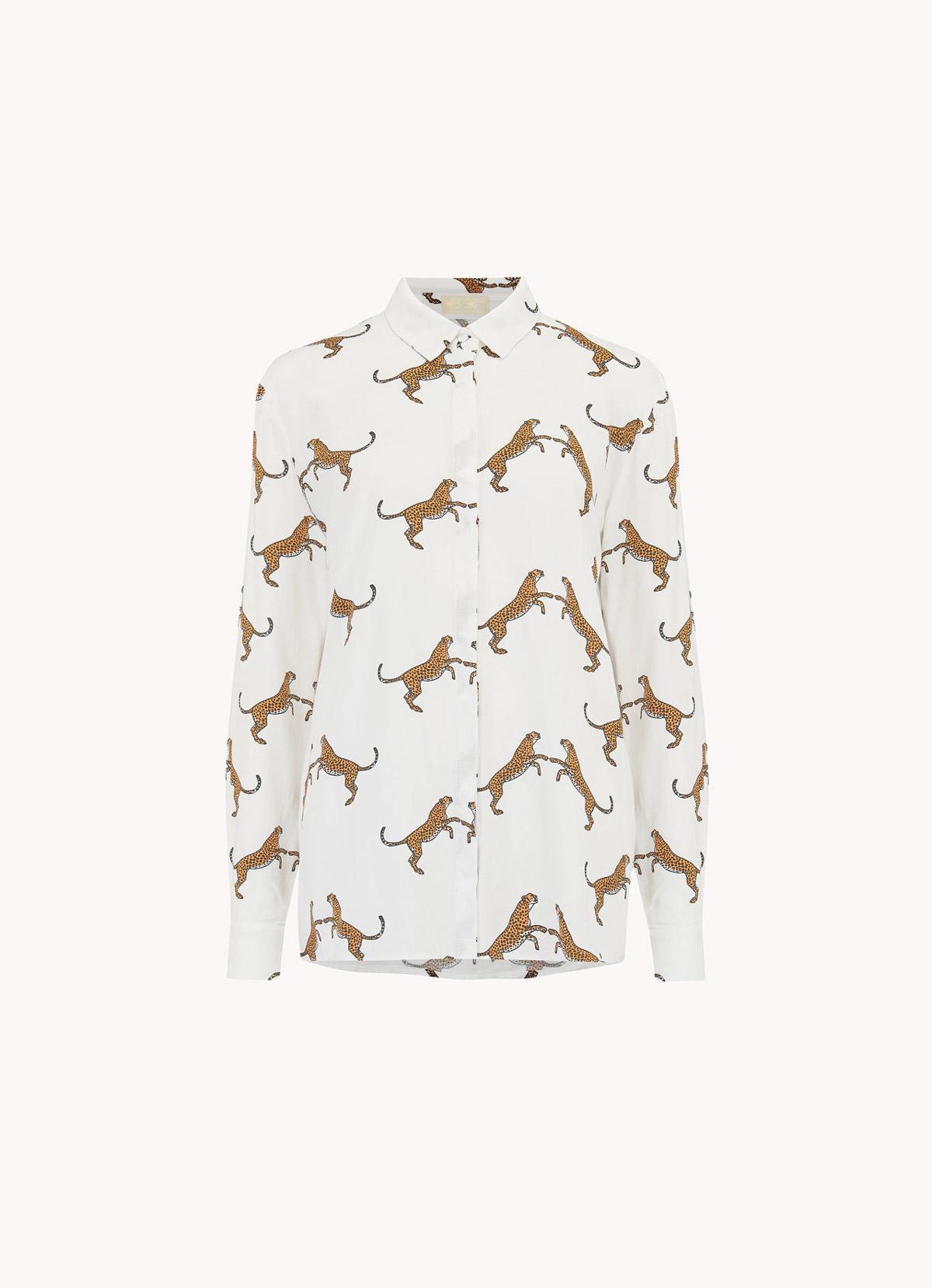 La chemise animal print