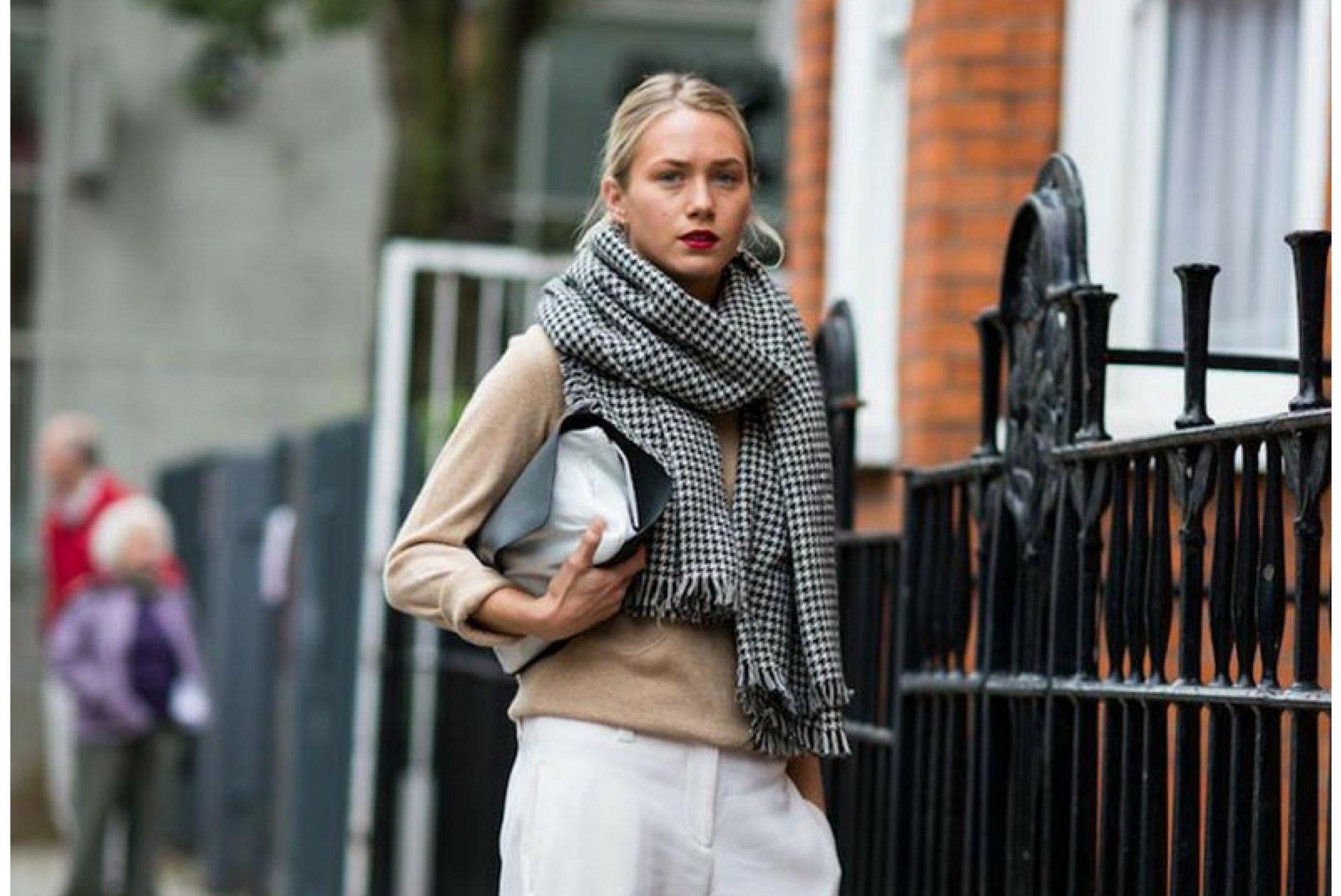 5 formas de ponerse un foulard