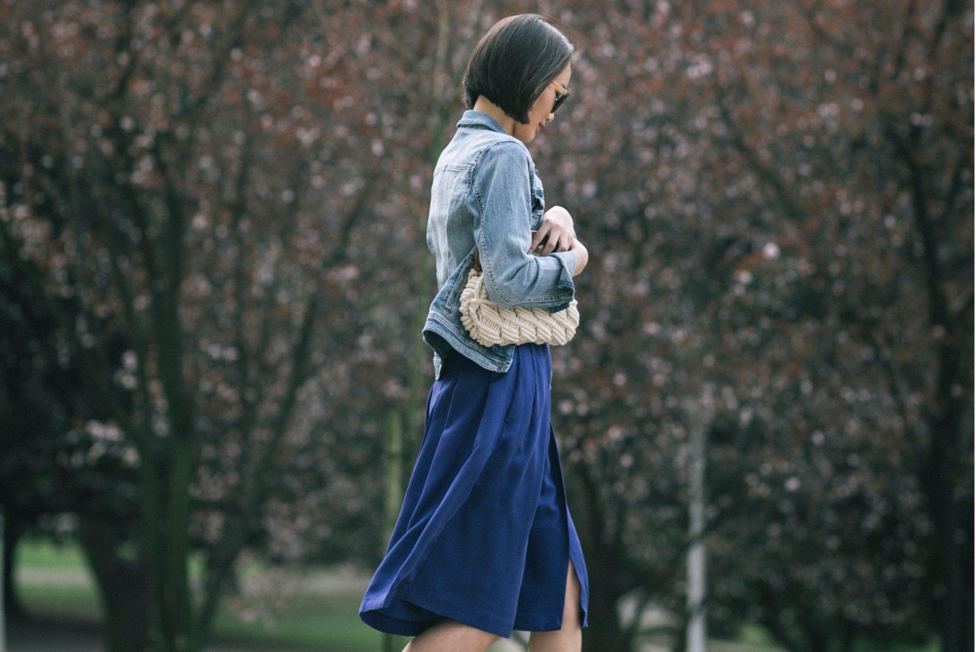 Look primaveral para pasear por el parque