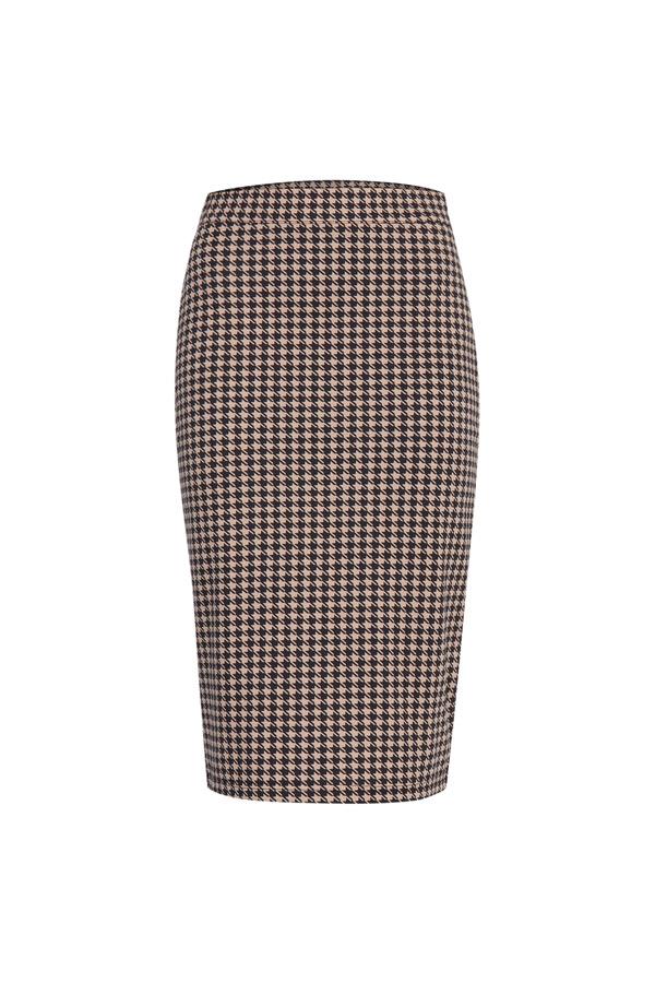falda lápiz de estilo glam