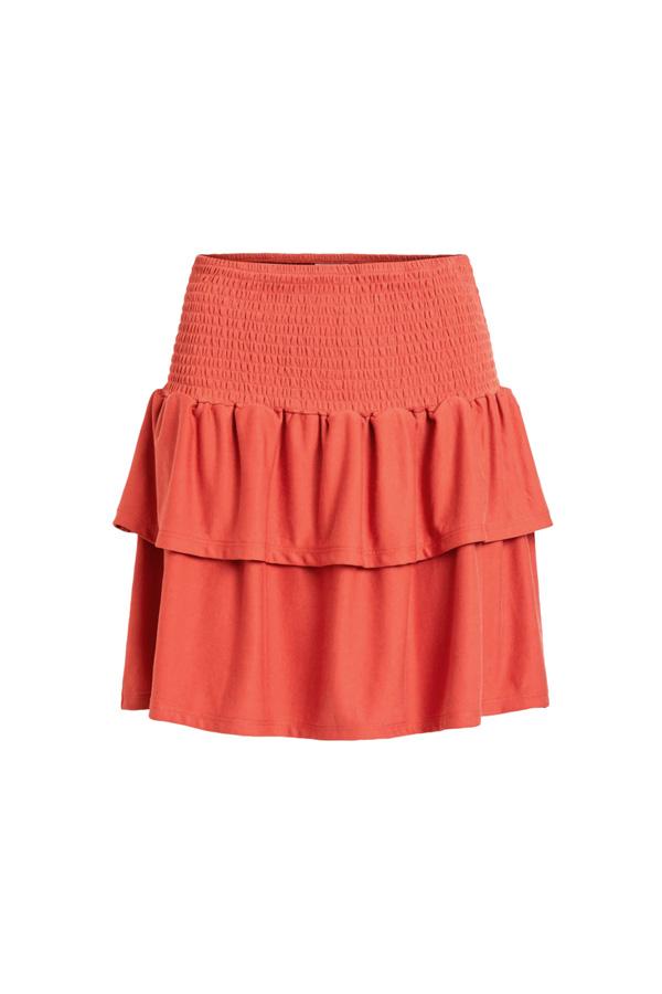 falda con volumen para potenciar caderas